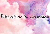 Education and Learning / all things education and learning for babies, toddlers, preschool, kindergarten, grade school, middle school, high school and college, math, science, history, reading, english, and more