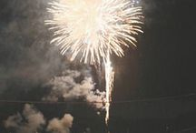 """fireworks— / """"There should be fireworks at last, when a dream dies."""""""