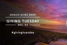 #GivingTuesday / As a longtime member of various charitable organizations, giving back is part of our DNA. We'd like to take this #GivingTuesday as an opportunity to reflect on what else we can do for the world around us. #GiveBack #UnSelfie #ZogicsGivesBack #PartOfTheSolution