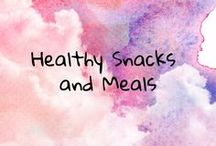 Healthy Snacks and Meals / Healthy food and snacks for all ages. kid snacks kids meals. adults snacks. adult meals.