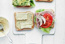 """food • appetizers, snacks— / """"You don't need a silver fork to eat good food."""""""