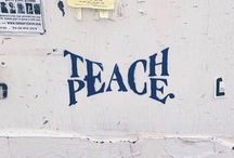 """peace– / """"We can never obtain peace in the outer world until we make peace with ourselves."""""""
