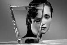 Glass/metal moodboard