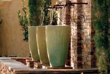 Landscape / drought tolerant, low water, low maintenance, gardening, gardens, beautiful, cacti, succulents, color, lush, save water, water, landscape, landscaping, Mediterranean, english garden, cottage style, modern garden, modern, water features