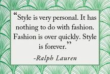 My Style. My Definition of Fashion. / Clothing. Shoes. Bags. Scarves. Jewelry. Hats. Style.