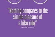 Bikes & cycling / Cycling is great for the environment, the perfect way to keep fit and it saves you money. What's not to like?