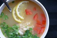 SOUPS, STOUPS  + STEWS / Soups, Stewps, Stoups, Broths, Stews... / by CANDY B.