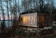 Cottages & Dream Escapes / Small dream homes and interiors | Rustic to minimalist | Cottage country