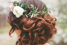 wedding style. / chic hair styles to complement you on the big day.