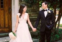 timeless elegant wedding. / classically chic weddings never go out of style.