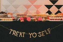 Parties / Party decor, games, finger foods, cakes, ect.