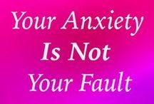 Depression, anxiety, agoraphobia.
