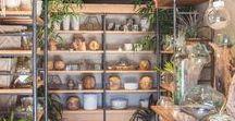 Indoor Plants / indoor plants, indoor jungle, jungalow style, plant lovers, indoor plant style, plant styling, tropical plants, air plants, greenery, green, planting, tillandsias