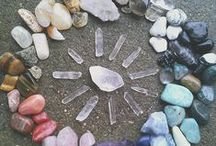 crystals + gemstones