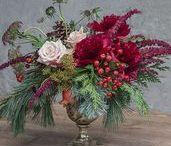 Holiday Floral Arrangements / http://shop.rogersgardens.com/browse.cfm/floral-arrangements/2,230.html