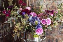 Weddings - Purple Floral Arrangements / wedding florist, flowers, florist, wedding flowers, wedding, events, event stylist, everyday flowers, floral studio, florals, floral arrangements, arrangement, purple, color palette