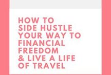 Side Hustle Life / Work Anywhere Gigs / Work From Home / Money & Finance Hacks