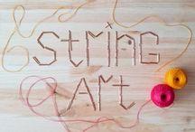 ~STRING ART~