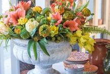 Spring Celebration 2017 / A weekend of fresh floral arrangements, installations, and new home décor collections to celebrate the arrival of spring.