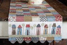 Table Runner / Tablecloth / by Amornrak Goy