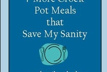 Crock Pot Love / If it wasn't for the crock pot my children wouldn't eat that often.  Our crock pot and these recipes keep the kids alive.