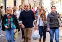 Food tours / we organise walking tours to explore understand taste  italian cuisine . the chef will give you an insight oh the fresh ingredients to prepare delicious meal / by Fabio Bongianni