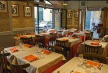 That's Amore Restaurant / In the heart of Rome, only a few steps from the Trevi Fountain, That's Amore restaurant is an inviting and comfortable space that is inspired by the best traditions of the Roman trattorias. Providing diners with an ambient 50's themed atmosphere, the restaurant offers a menu with the most exquisite and authentic regional cuisine.    / by Fabio Bongianni