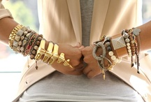 ARM PARTY / I love the bracelets...