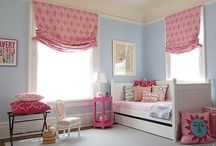 Blue, White and Pink Girl's room / by Karie McLean