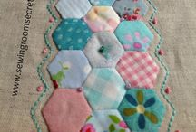 Quilting: HEXAGON / by Amornrak Goy
