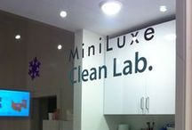 Squeaky Clean / All things spick and span at MiniLuxe