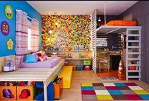 DECORAÇÃO | Crianças | Teens! / Decoração infanto-juvenil, DIY, brincadeiras, comidas... / by Poli Xavier
