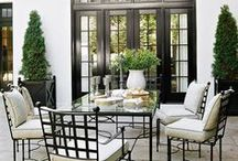 Outdoor decorating / by Michele Greene
