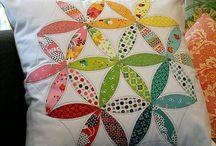 Cushion: Patchwork / by Amornrak Goy