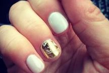 Gold Leaf / We love #gold! Look at the amazing #manicures that we can accent with our gold foil! So luxe!