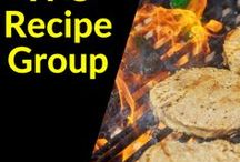 Food and Recipe Group Board / Available through the Pinterest Group Board group on Facebook only.
