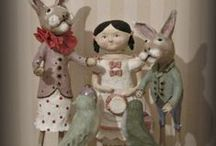 Dolls & toys / Folk Art One of a kind doll