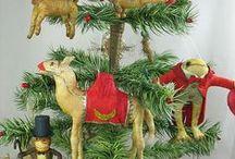 Spun cotton / Cotton batting ornaments