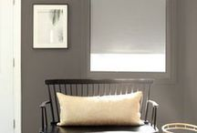 AphroChic Color Crush: Gray / Gray interiors that reflect AphroChic's Brooklyn In Color Paint Collection and the perfect shade of gray - #bedstuy.