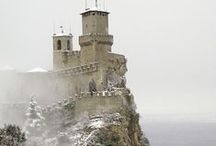 Castles in My Dreams / Castles, cathedrals, palaces, mansions, oohs and aahs.