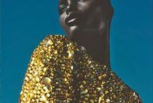 Gold & sequins