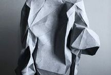 Paper & Origami / Textures, shades and shapes