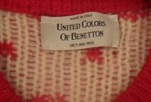 Vintage Benetton / Benetton - United colours of Benetton from the mid 1980's to early 1990's.