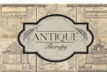 My antique business, Antique Therapy /  You can come see us at either www.antiquetherapy.com or pay a visit to our FaceBook page under Antique Therapy.