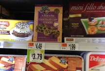 Spot the Cookie Dough / Our cookie dough can be hard to find, but definately worth the search.  To make it a little easier here are pictures of the cookie dough on the shelf at supermarkets.