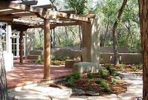 ADOBE HOUSES AND COURTYARDS / by Annie Britten