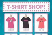 T-Shirts For Girls! / Find all these graphic tees and more at FPgirl.com! / by FPgirl