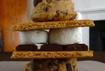 S'More Cookie Recipe  / Easy Step by Step baking instructions to make a scrumptious gorilla sized S'more