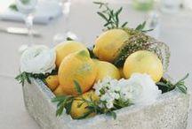 Hääpöydän kukat ja koristeet / Wedding Centerpiece