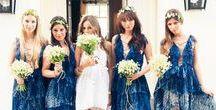 Indigohäät - hääteema / Indigo wedding theme / Indigonsininen, sinivalkoinen posliini ja vintagesta inspiroitunut hääteema on trendikästä vuonna 2017.